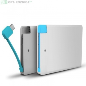 Ультра тонкий power bank 6000 mah